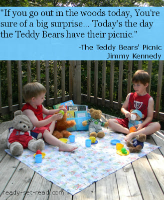 teddy bears picnic, lyrics