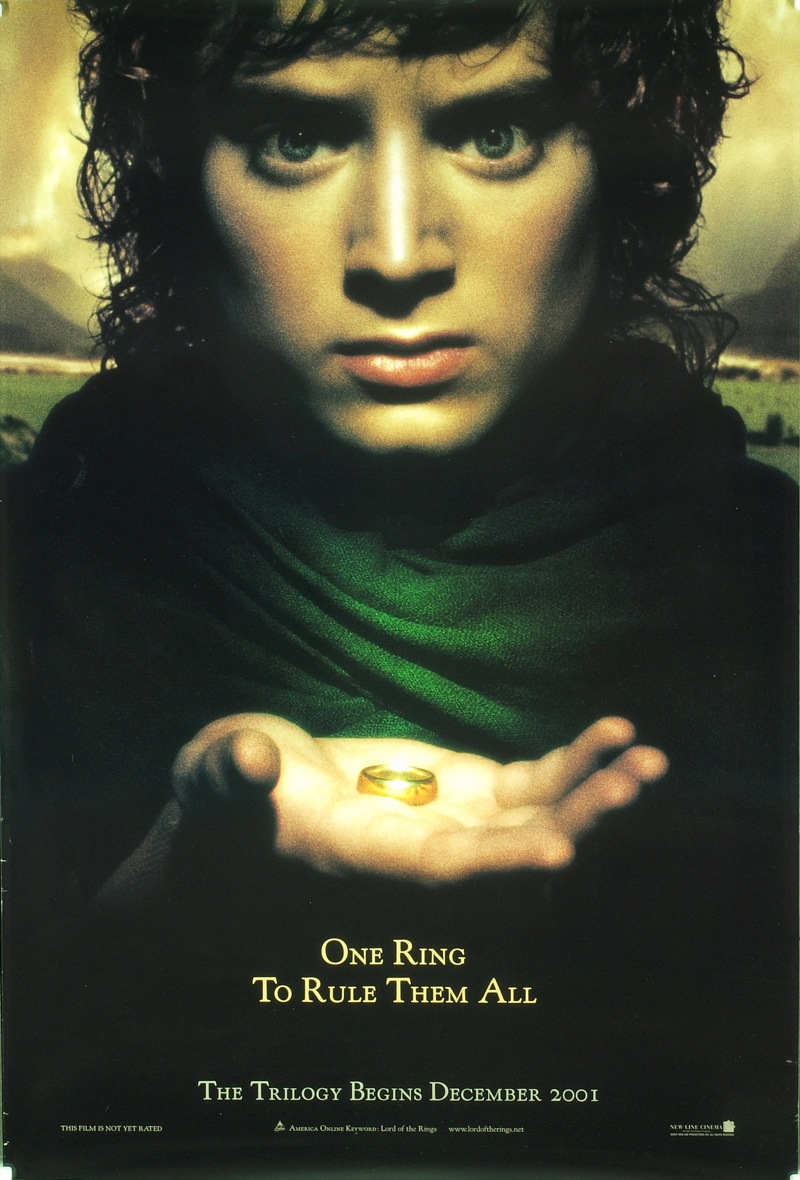 Lord Of The Rings Movie Poster The Geeky Nerfherder: ...