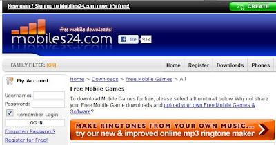 free mobile games 2 free mobile softwares 3 variety