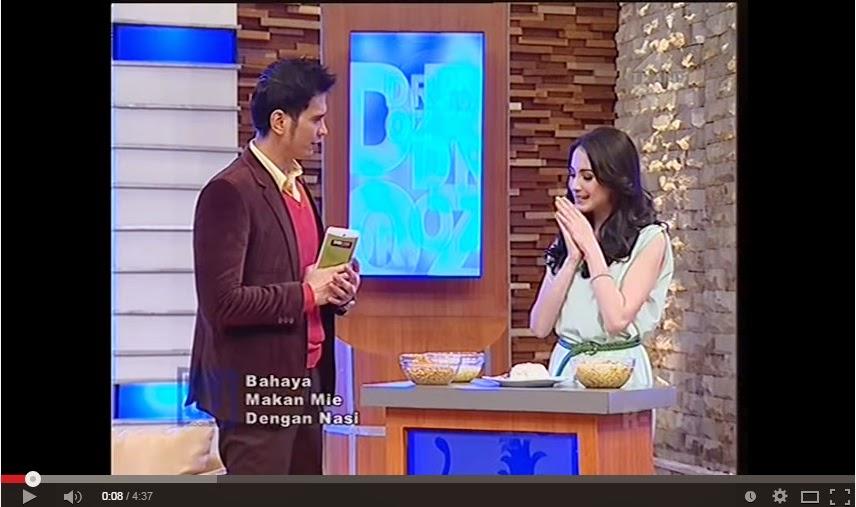 Video : Bahaya Makan Mie dengan Nasi