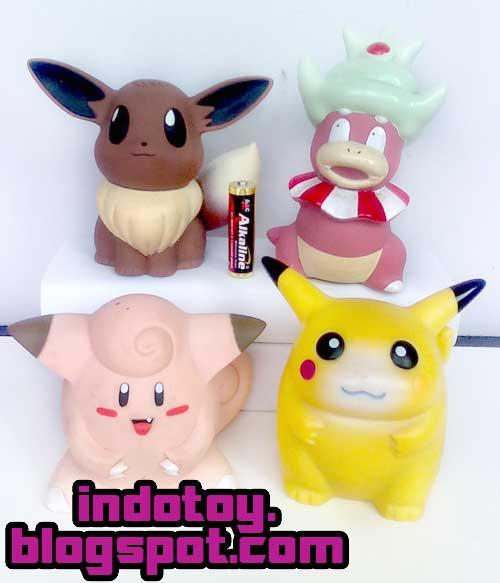 Jual Pokemon Chara Bank isi 4 figure