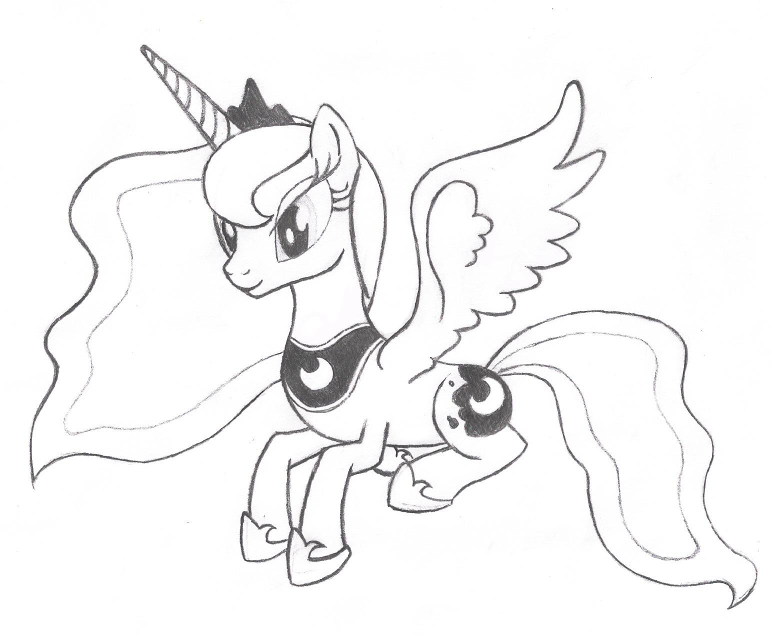 Lujoso Mi Pequeña Amistad Pony Es Mágica Páginas Para Colorear ...