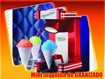 MINI MAQUINA DE GRANIZADO