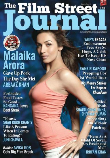 Malaika Arora Khan The Film Street Journal  - Malaika Arora Khan on The Film Street Journal