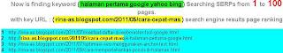 Cara Mengetahui posisi di SERP  Google | Checker Tool