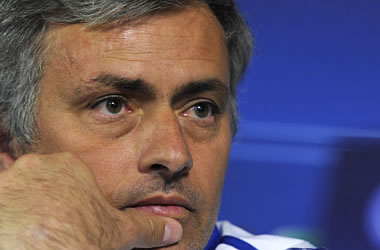 Mourinho at press conference before Tottenham match