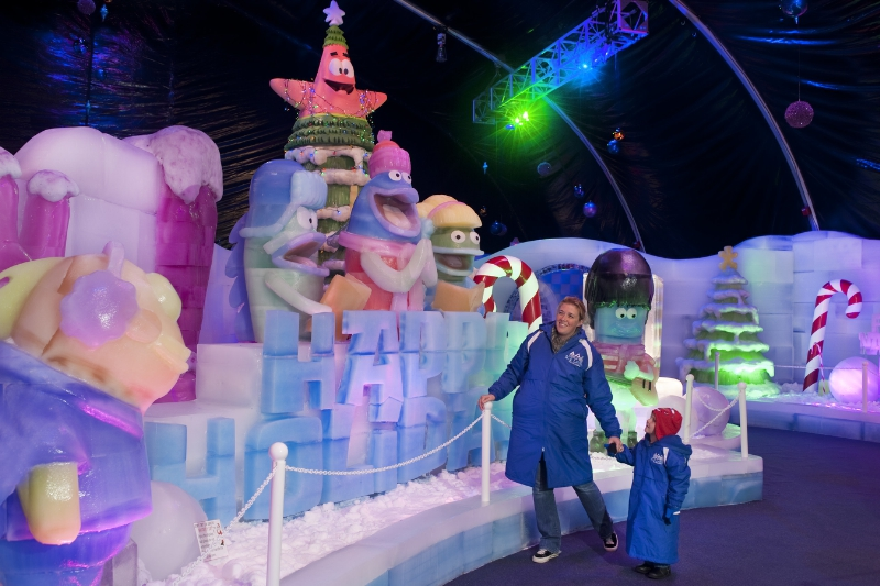 Nickalive Moody Gardens And Nickelodeon Reveal First Glimpse Of Brand New Ice Land Ice