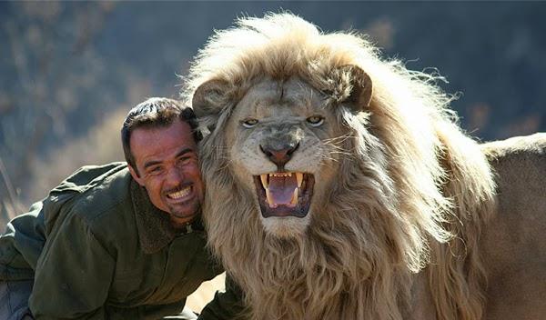 Man Attempts To Hug a Wild Lion. What Happens Next?