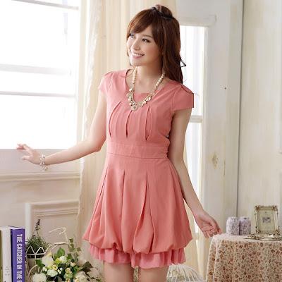 model dress korean import murah terbaru 2016