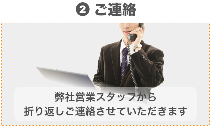 (2)ご連絡