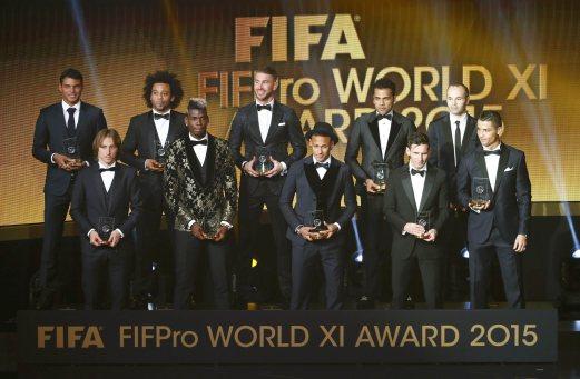 fifa award 2015