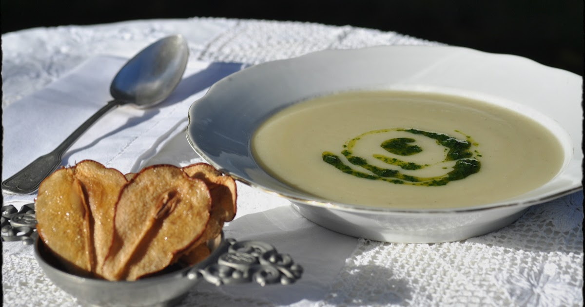 The Kitchen Lioness: FFwD: Jerusalem Artichoke Soup with ...