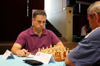Christian Bauer (2649) 1-0 Pierre Dussol (2156) - Photo © Chess & Strategy