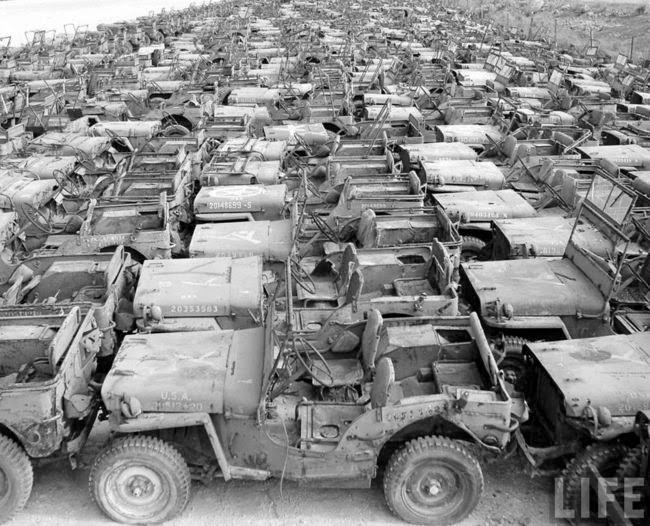 Historia e inicio restauración | Willys MB 316162 Marzo 1944