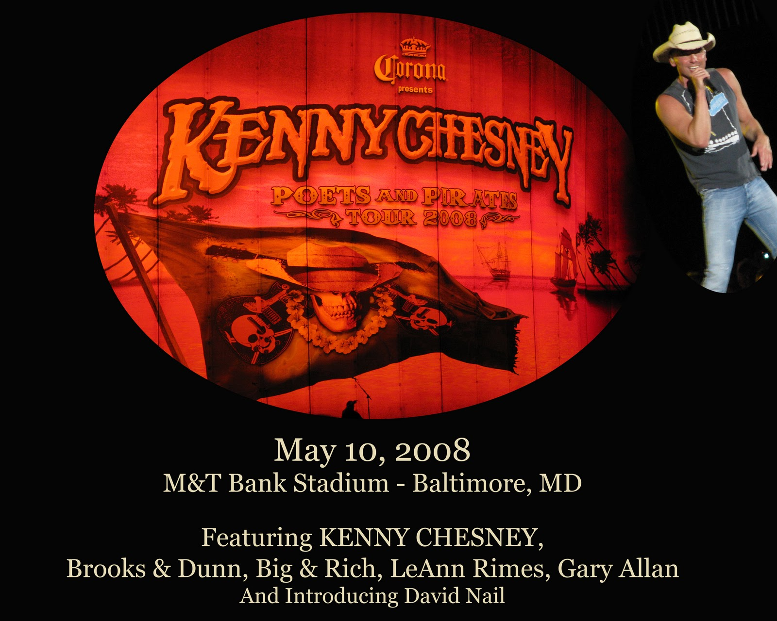 CHERYL\'S PEARLS: Pics \'n Ponderings: Kenny Chesney Stadium Tour in ...