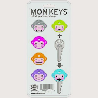 Set Fundas para llaves Monkey
