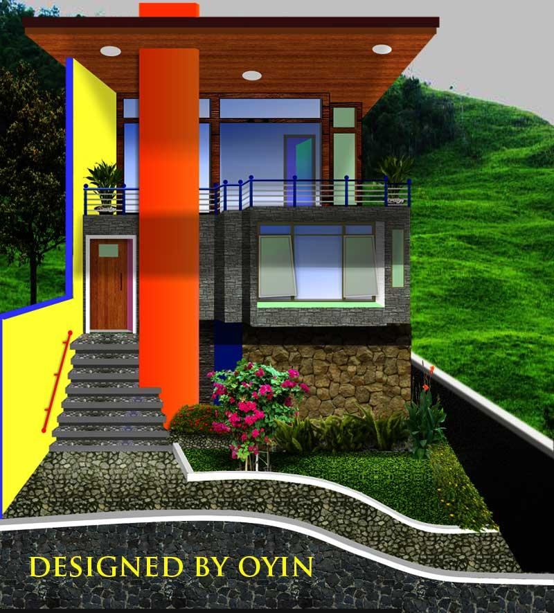 Oyin suka desain minimalis dimana pengertian dari minimalis itu bukan berarti sangat minimal dalam segala hal tapi menekankan bentuk desain yang lugas ... & Rumah bergaya futuristik di lahan terbatas   OYIN AYASHI
