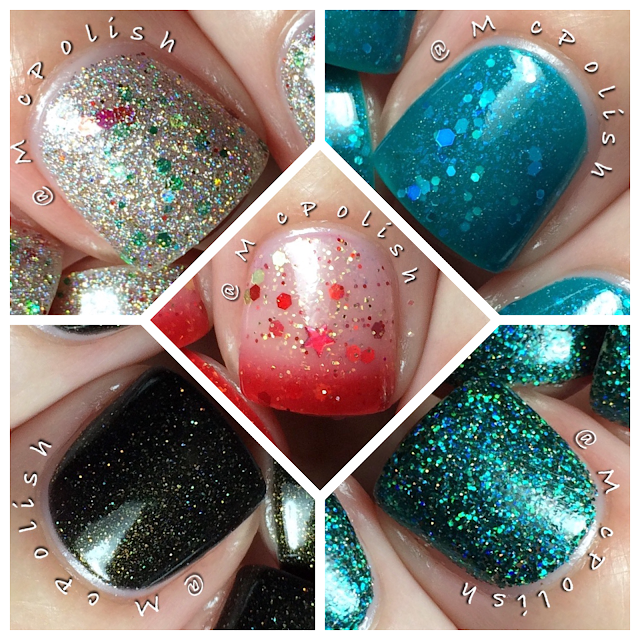 Lavish Polish - Christmas Collection 2015 - McPolish