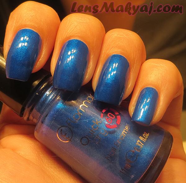 Flormar Quick Dry Blue Jean