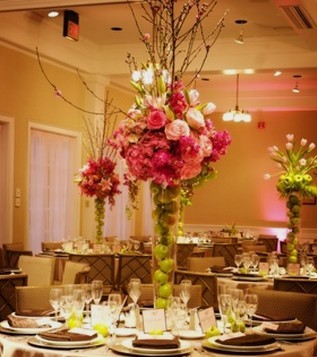 Flower Wedding Candles Wedding Decorating Table Centerpieces