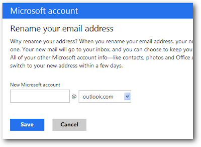 new outlook account
