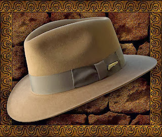 indiana jones hat fedora five 5 harrison ford george lucas steven spielberg disney lucasfilm