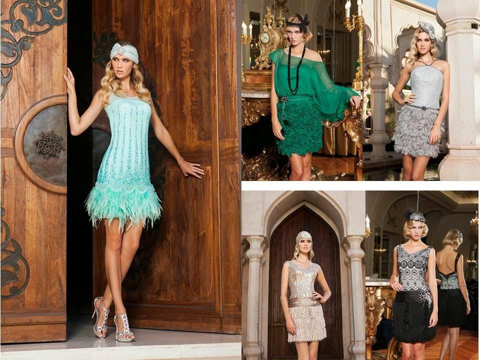 Vestidos de fiesta cortos Sonia Peña