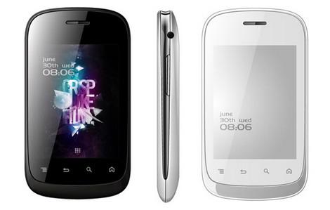 Gionee Pioneer 3G (giá 1,5 triệu đồng)