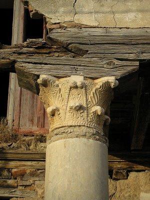 San Román de Hornija - Capitel