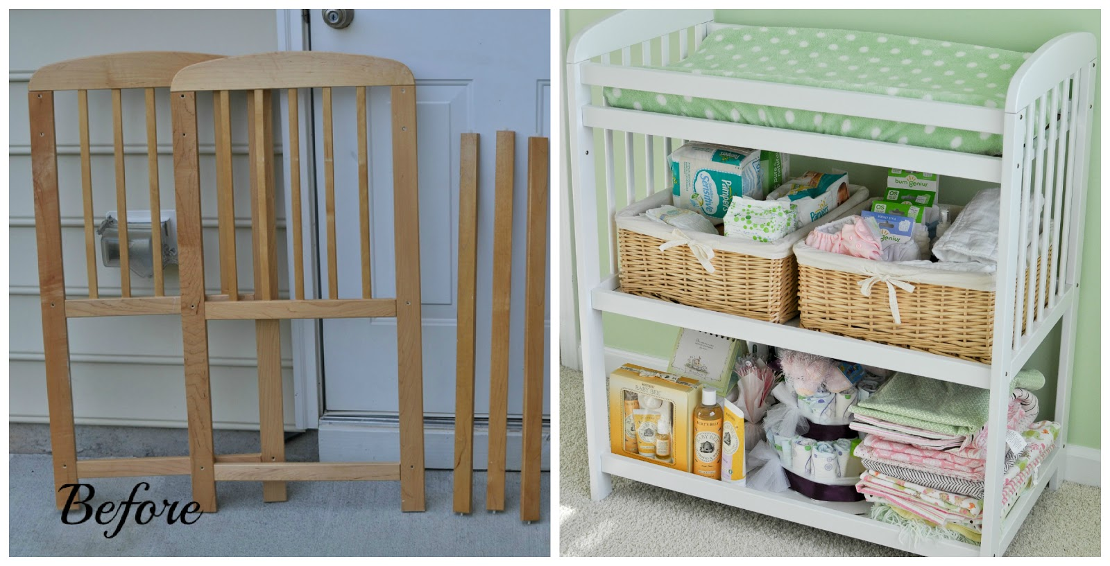 forever after blog baby nursery diy project