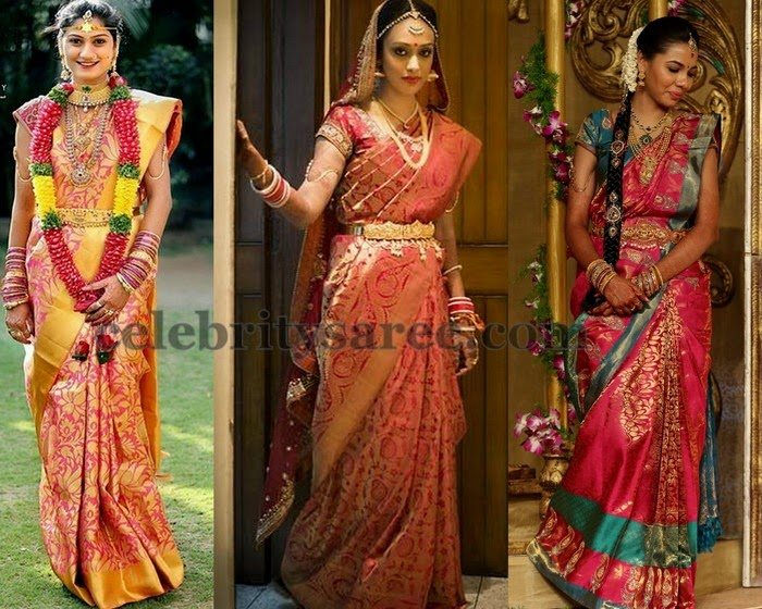 Real Life Brides in Kanjivaram Saris