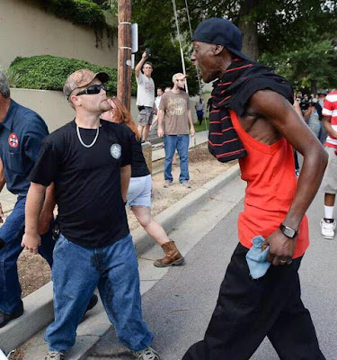 Bloods Vs KKK Rally Outside the South Carolina Statehouse
