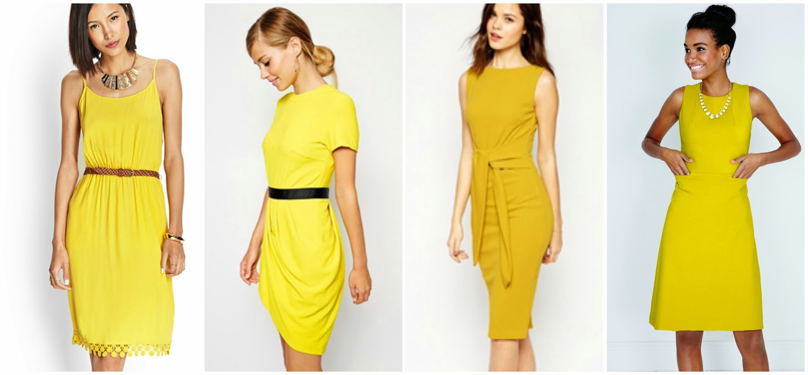 Wear it for less nyfw s s 2015 yellow dress for Boden yellow
