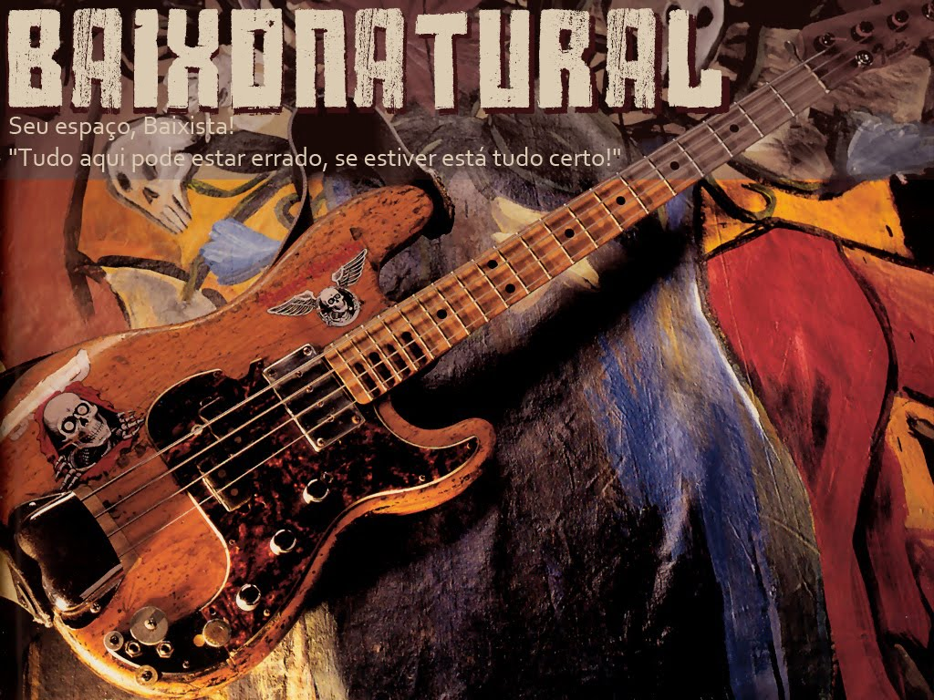 Baixonatural English Version - Articles, Interviews, Reviews, classes and Bass Vídeos.