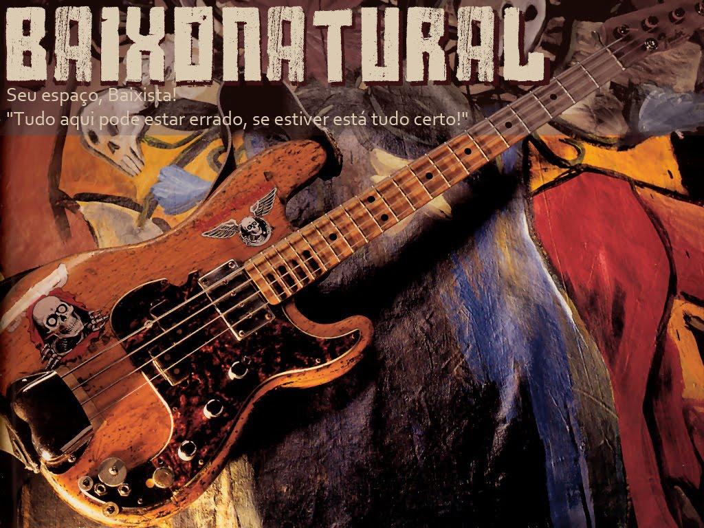 Baixonatural English Version - Articles, Interviews, Reviews, classes and Bass Vídeos.