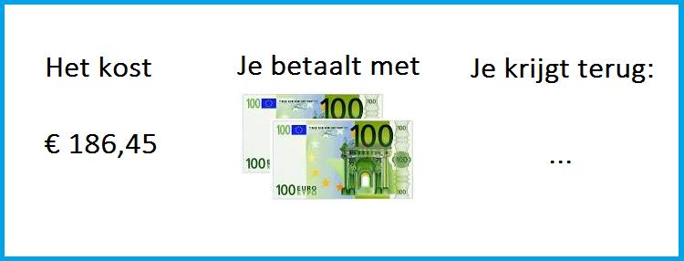 rekenen met geld