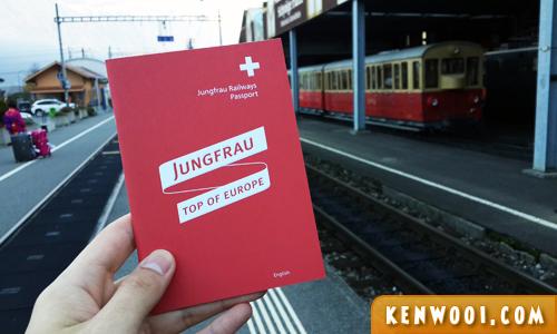 swiss alps jungfrau book