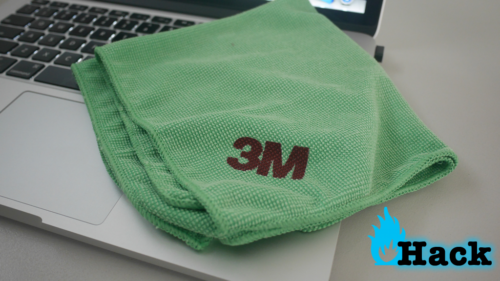 Use microfiber cloth to clean any surface of your gadget