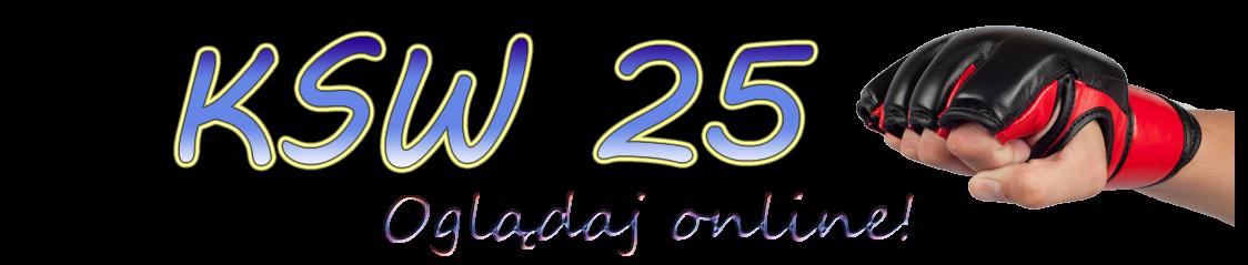 Gala KSW 25 online stream. Informacje na temat transmisji.