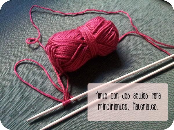 Punto dos agujas bufandas - Hacer punto con dos agujas para principiantes ...