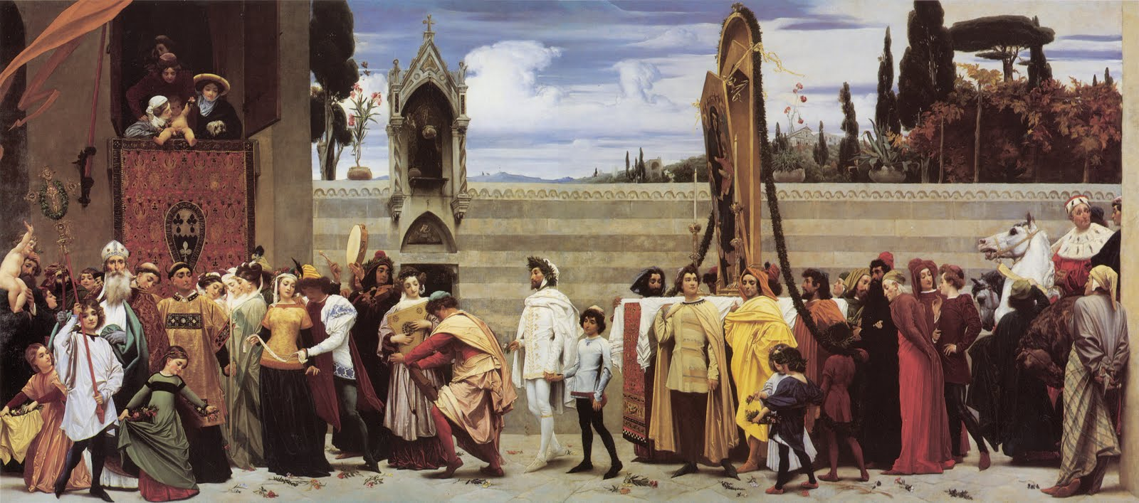 lord frederick leighton celebration