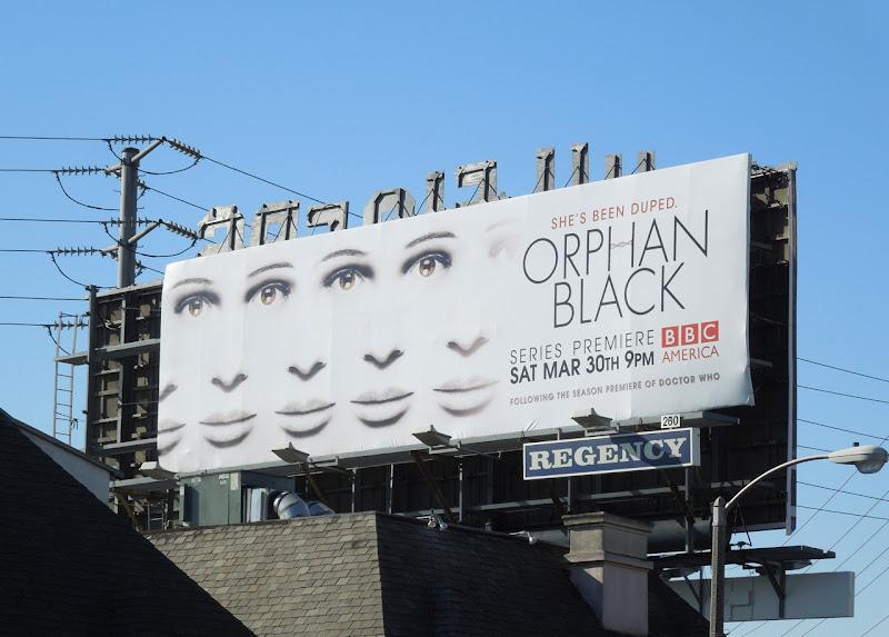 Orphan Black BBC America billboard