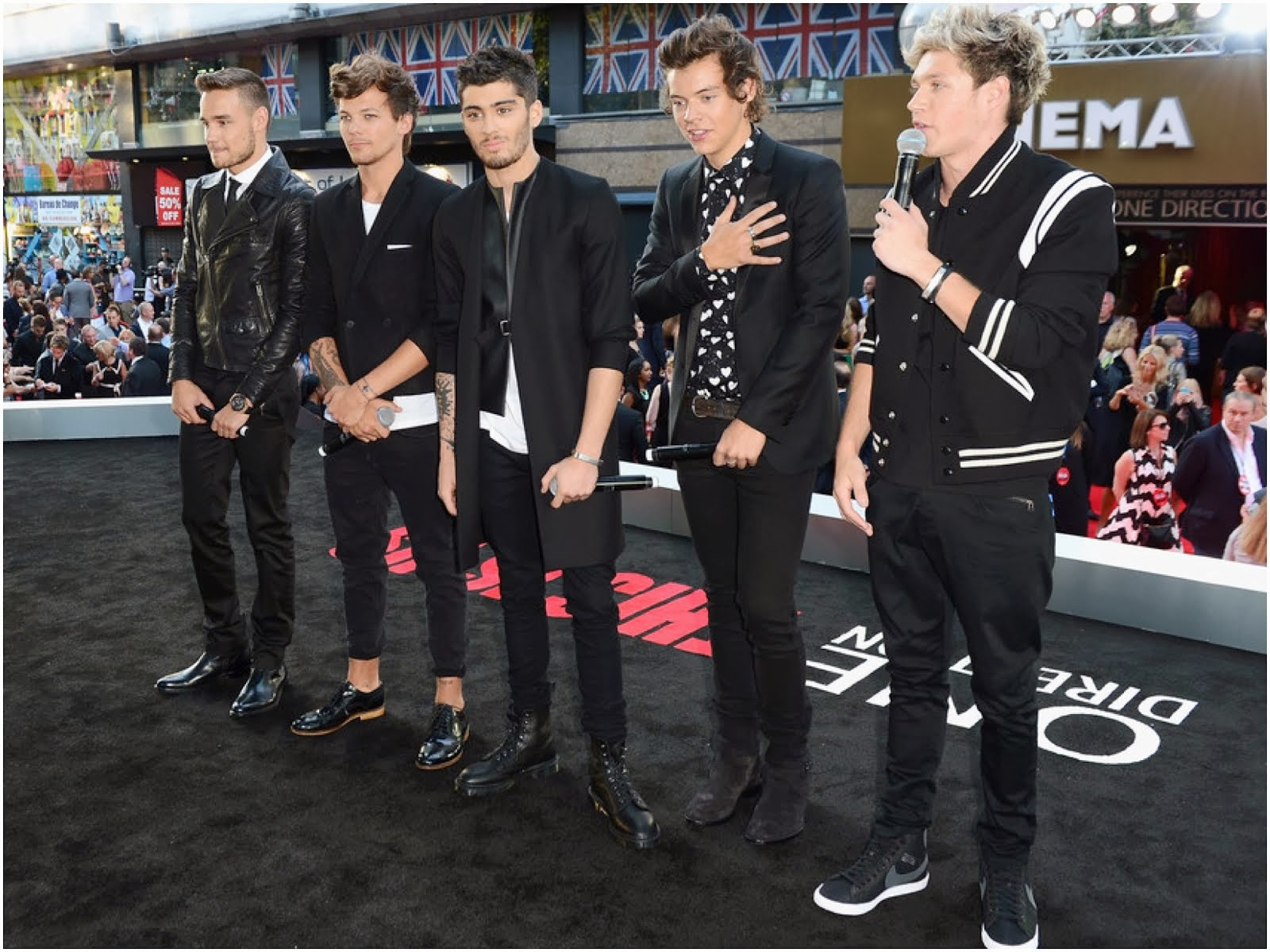 00O00 Menswear Blog: Zayn Malik in Lee Roach - 'One Direction: This Is Us' World Premiere in London August 2013