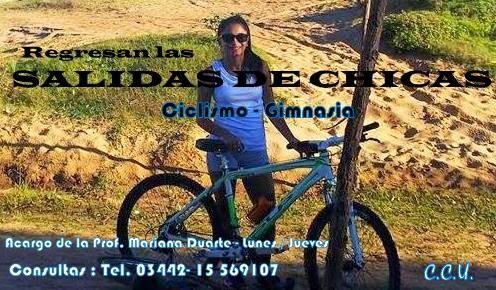 """Ciclismo - Gimnasia  """"CHICAS"""""""
