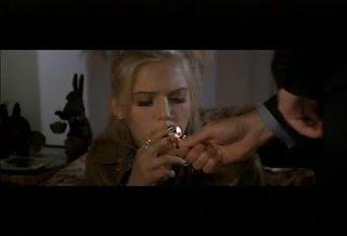 Dominique Swain Smoking Cigarettes