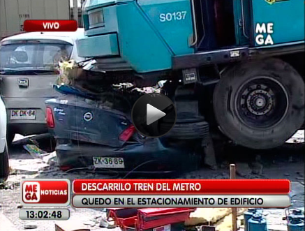 accidente metro