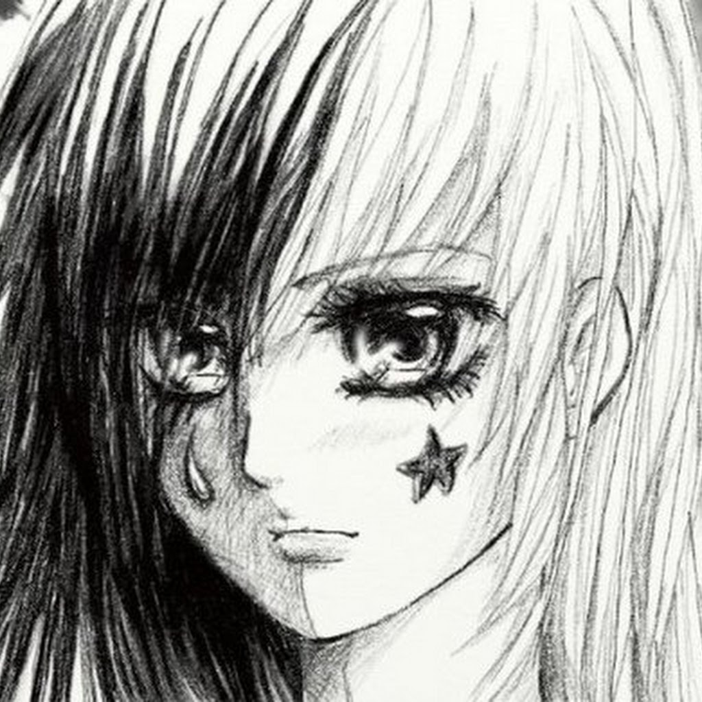 Crying Anime Drawings In Pencil