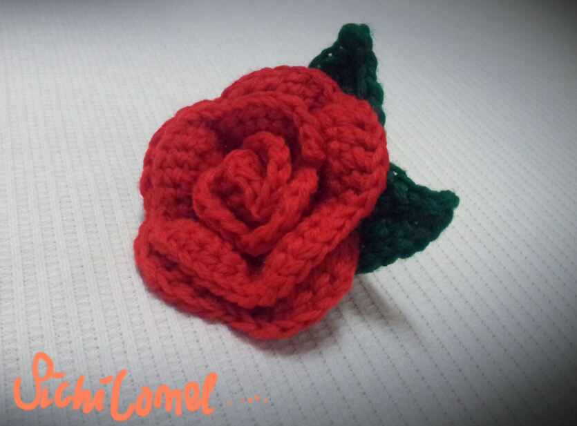 Aura mariam handmade shop bunga ros kait crochet bunga ros kait ccuart Images