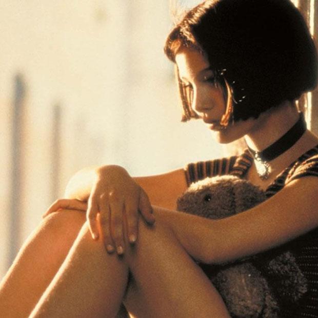 Natalie Portman no filme O Profissional