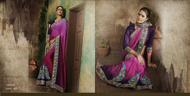 Latest New Collection of Indian Saree-Buy Designer Sarees Online